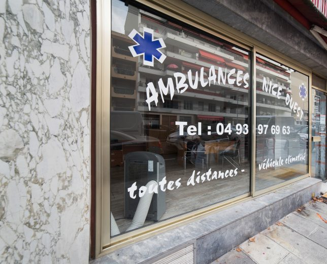 Ambulance Nice ouest